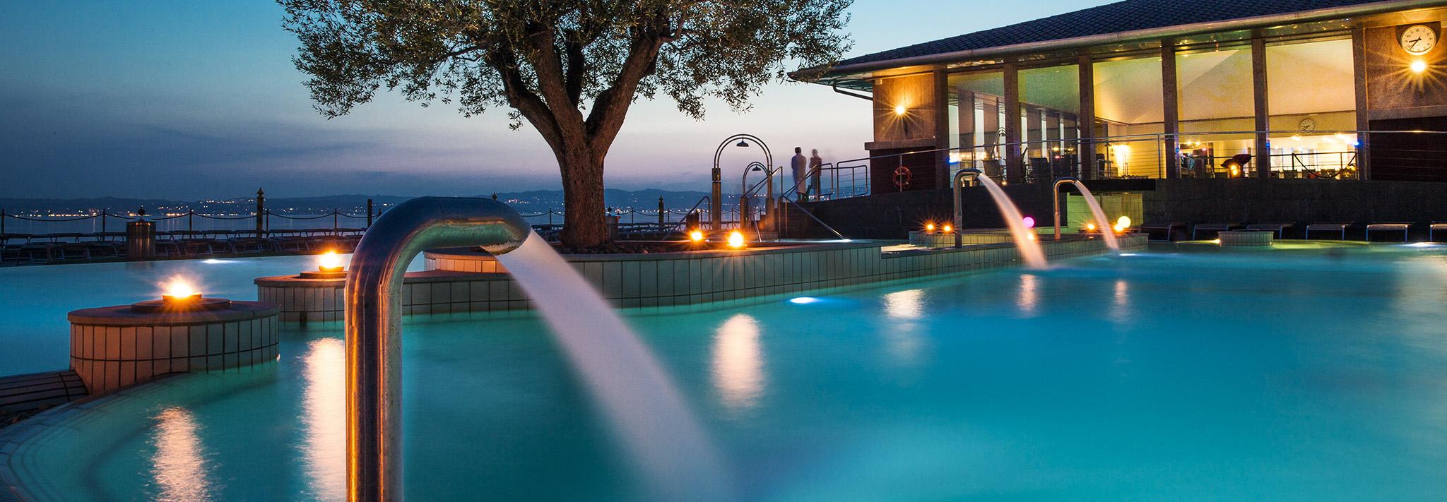 Aquaria thermal spa centro benessere sul lago di garda for Bagni lago prezzi
