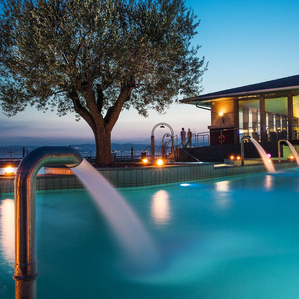 Hotel acquaviva del garda a desenzano 4 stelle con spa - Hotel a castrocaro terme con piscina ...