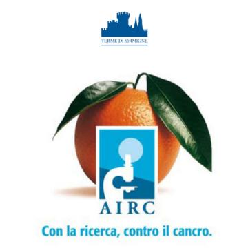 """LE """"ARANCE DELLA SALUTE"""" AIRC"""